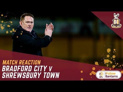 MATCH REACTION: Hopkin hails 'incredible' finish as City see off Shrewsbury