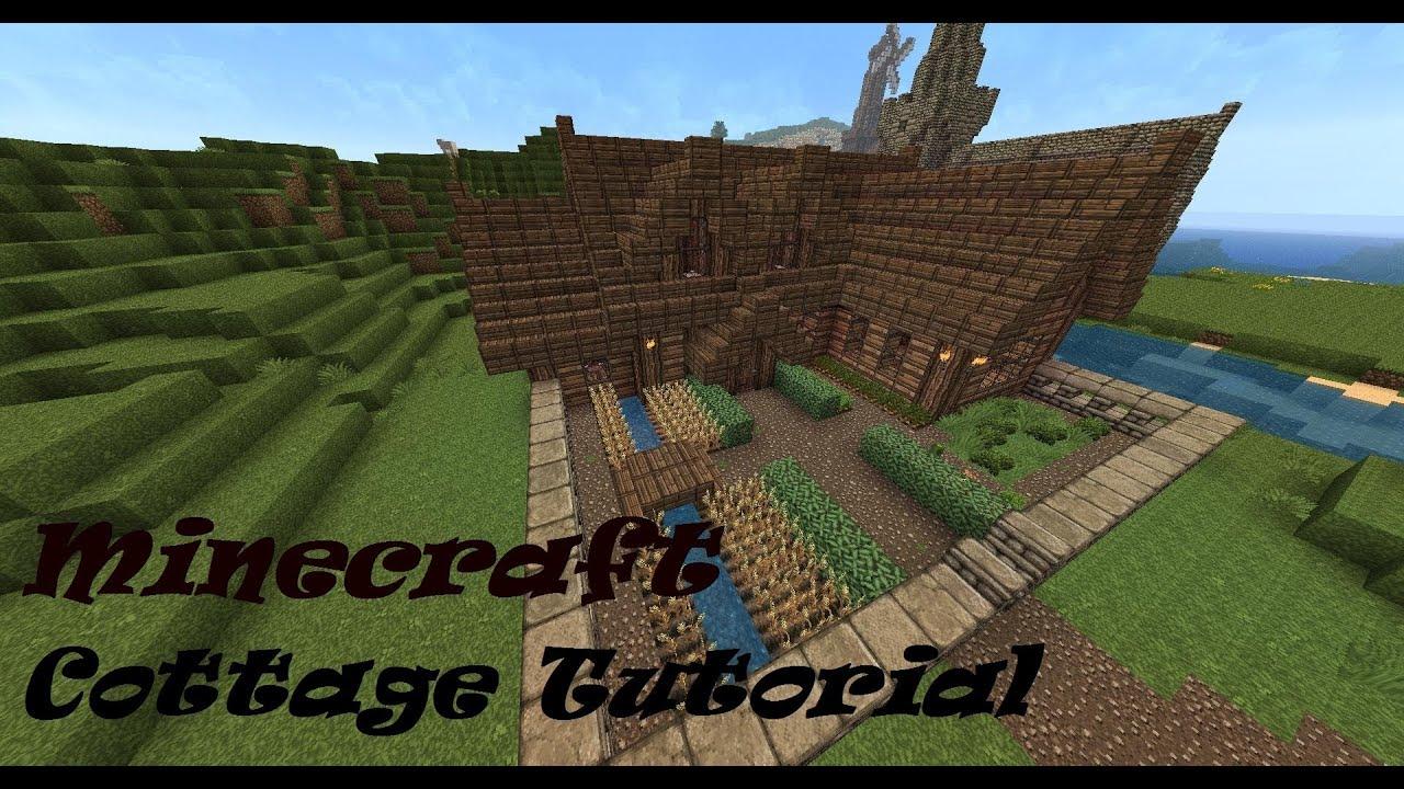 Free Tiny House Blueprints Minecraft Cottage Tutorial Youtube