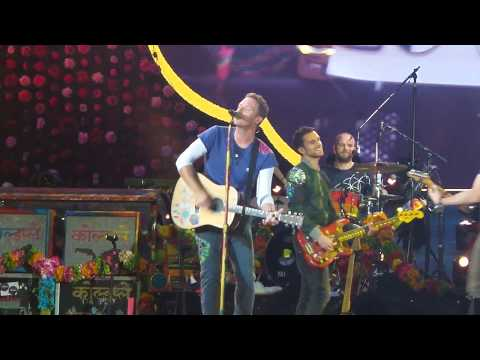 "Coldplay LIVE Paris - Last part of ""Yellow"" - Stade de France July 15th 2017"