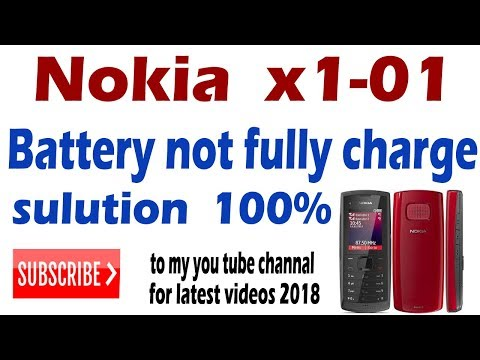 Nokia X101 battery not fully charging problem solution Urdu and Hindi
