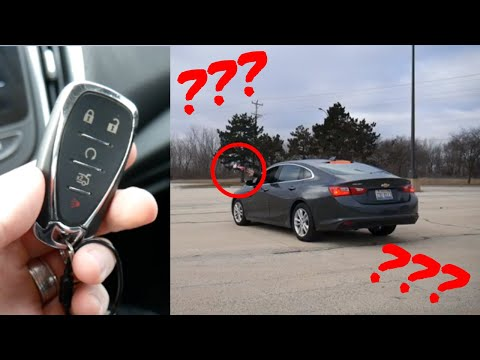 What happens if you throw your key fob out the window? // 100 rental cars