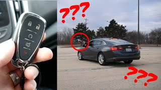 What happens if you throw your key fob out the window? #ChevyMalibu