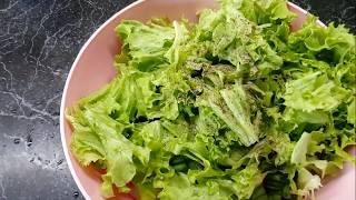 Вкусный салат Весна с яичными блинчиками!!!