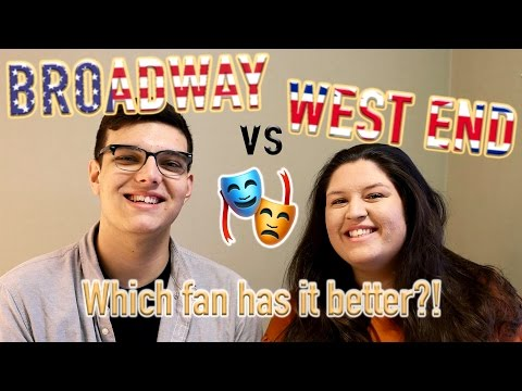 Broadway VS West End 🎭 Who has it better?!