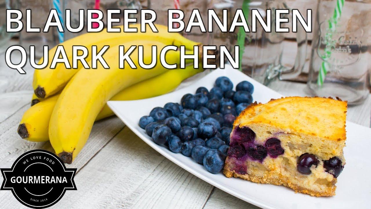 Rezept Blaubeer Bananen Quarkkuchen Stop Motion Animation Youtube