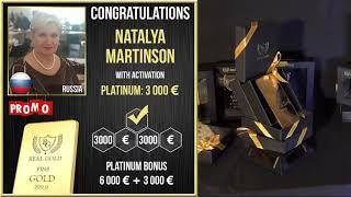 Real Gold отзыв клиента Наталья Мартинсон Россия