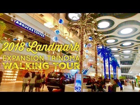 2018 Landmark Expansion Trinoma Walking Tour by HourPhilippines.com