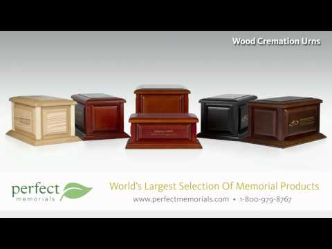 Wood Cremation Urns
