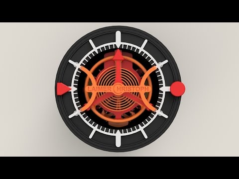 3D-printed Watch with Tourbillon - How it's made