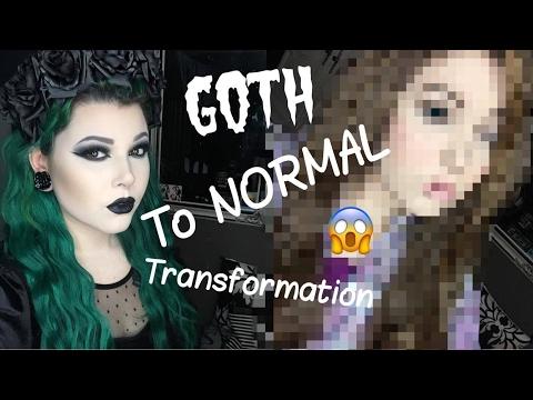 GOTH to NORMAL Transformation | Dre Ronayne