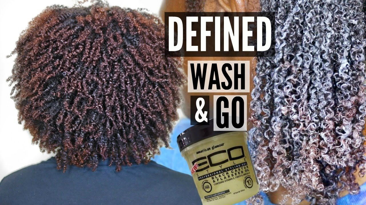 Black Castor Flaxseed Eco Styler Natural Hair