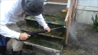 Zen Pressure Washing/Cleaning (Real Time, No Music/Raw Unedited Footage) Trance