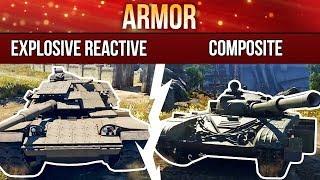 War Thunder: Explosive Reactive Armor and Composite Armor