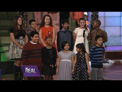 Children's Choir Sings 'We Wish You a Merry Christmas'