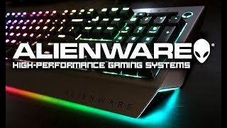 #93 ALIENWARE Gaming Gear Keyboard AW768 mouse AW958