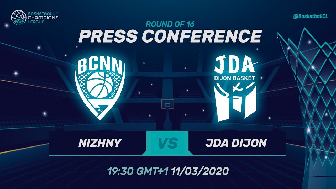 Nizhny Novgorod v JDA Dijon - PC - Round of 16 - Basketball Champions League 2019