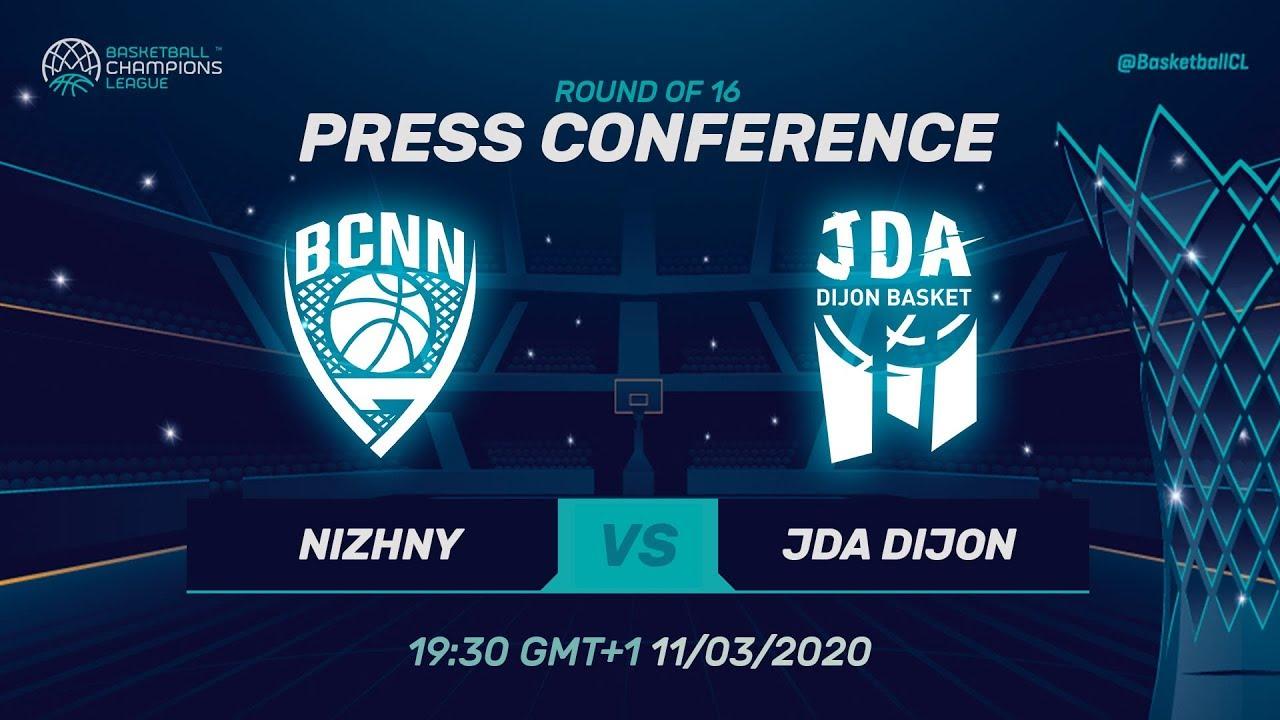 Nizhny Novgorod v JDA Dijon - PC - Round of 16
