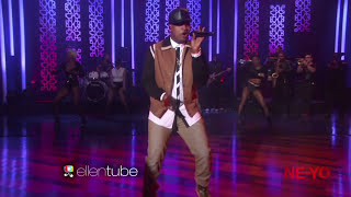 "NE-YO & Juicy J Perform ""She Knows"" On The Ellen Show"