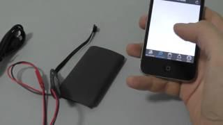 Прихована камера BX900Z WIFI IP налаштування iOS
