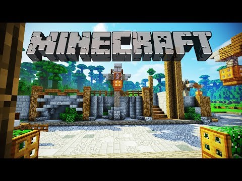 New Market Area   Minecraft 1.12 Survival Let's Play   Episode 73