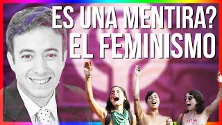 El FEMINISMO es una MENTIRA? con Agustín Laje