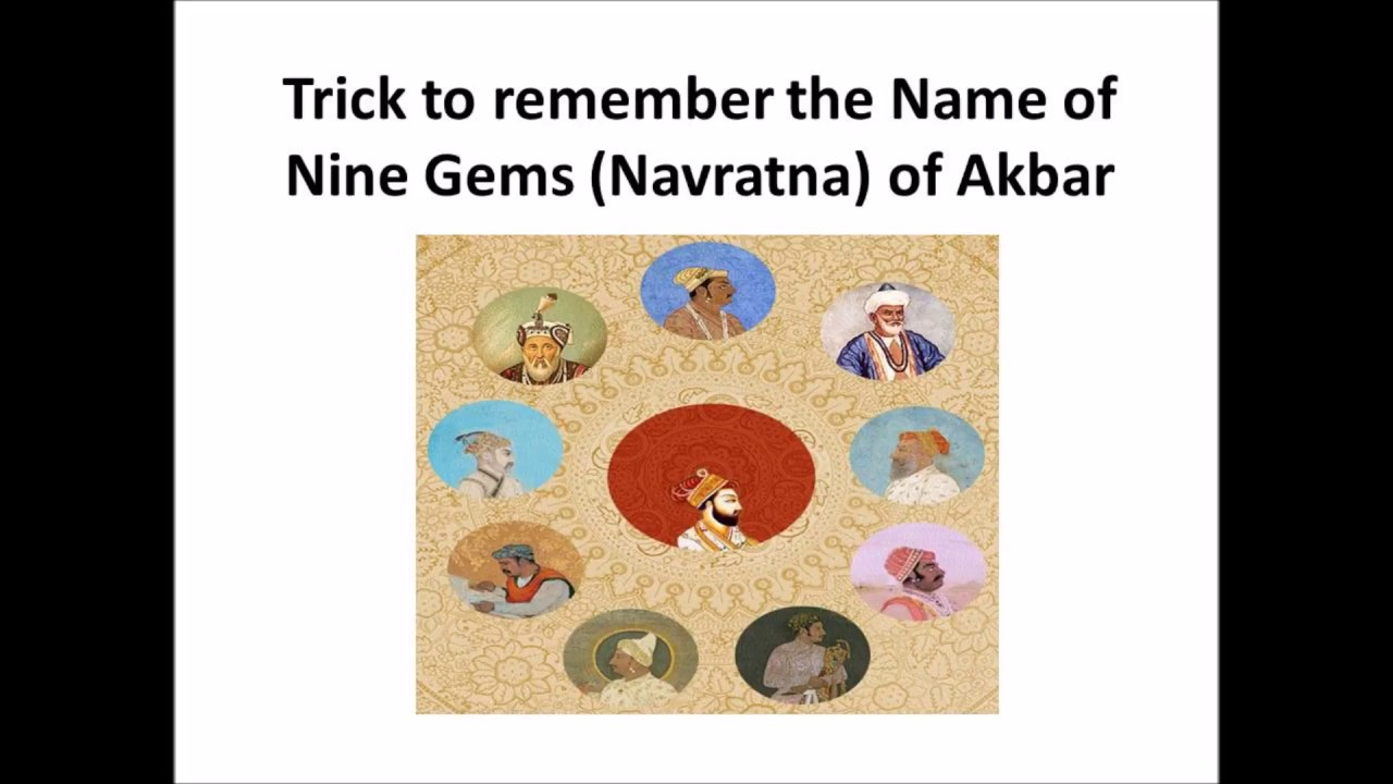 Trick to remember the Name of Nine Gems (Navratna) of Akbar\'s ...