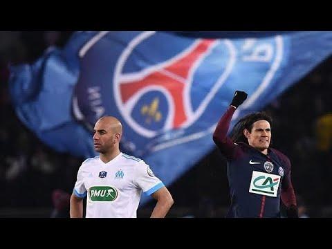 Résumé PSG-OM(3-0). /Quarts de finale Coupe de France 2018
