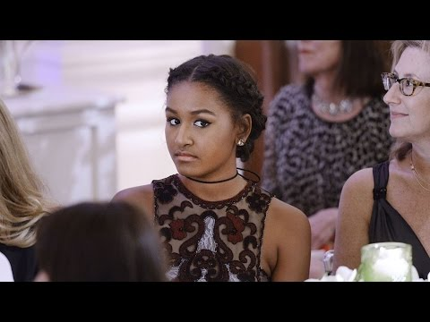 Where Was Sasha Obama During President Barack...