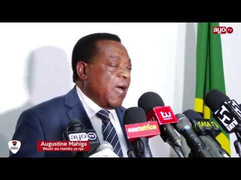 Waziri Mahiga kajibu madai Tanzania kuingilia uchaguzi wa Kenya