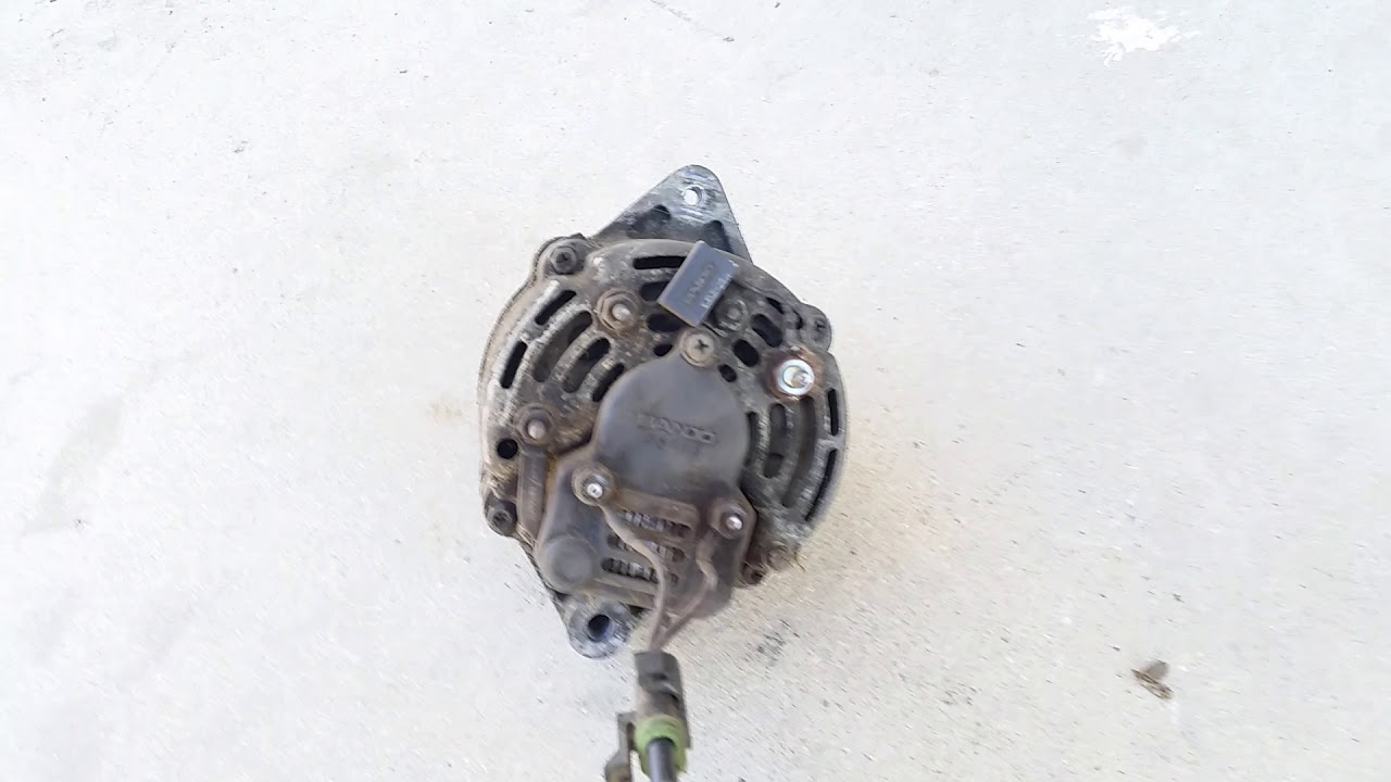 hight resolution of bobcat 853 charging issue diagnosis and repair bad alternator