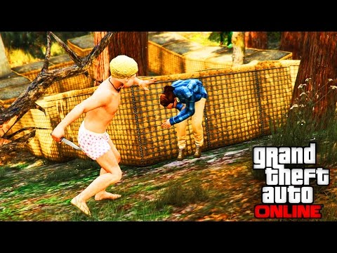 THE CULLING(hunger games) VERSION GTA 5 ONLINE
