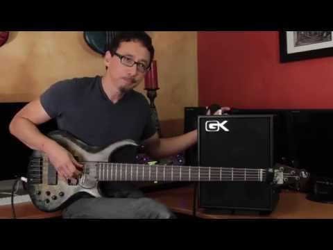Gallien-Krueger MB110 Demo by Norm Stockton
