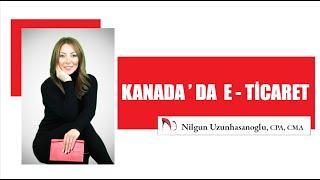 KANADA'DA E-TİCARET