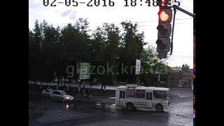 ДТП. Грушевского-Кориатовичей. 02.05.2016.