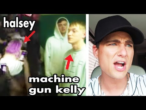 I GOT IN A FIGHT w/ HALSEY & MACHINE GUN KELLY AT THEIR PARTY!! *TRUE STORY*