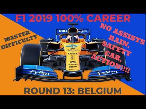 F1 2019 100% Career Mclaren, Part 13 Belgium