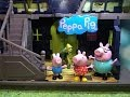 Peppa Pig Spooky Haunted Mansion Toys Video Parody