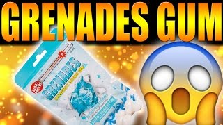 I ALMOST DIE! I TRIED THE MOST INTENSE GUM ON THE PLANET REVIEW! @GrenadesGum
