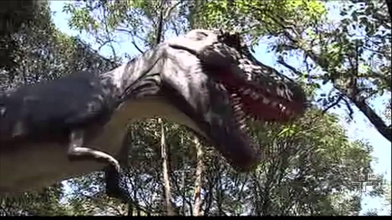 zoologico de sao paulo inaugura exposicao dinossauros youtube