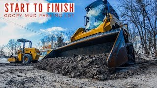 FIRST PARKING LOT JOB OF 2019! (COMPLETE PROJECT) {4K}