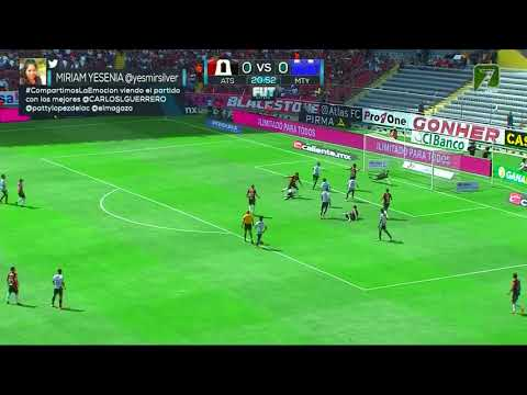 Gol de J. Torres | Atlas 1 - 0 Monterrey | Clausura 2019  - Jornada 17 | LIGA Bancomer MX