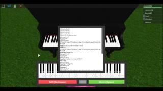 7 years Roblox Piano
