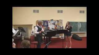Mercadante: Rondo Russo - Flute Masterclass in Dortmund (Germany), 2012 (Part 16).