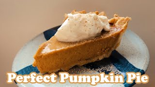 The Perfect Pumpkin Pİe 🥧