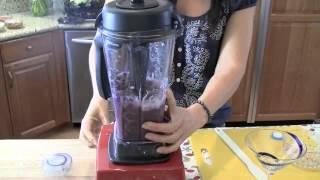 Diana's Two-minute Blueberry Frozen Yogurt