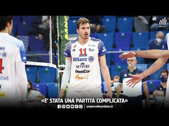 Superlega, intervista post Milano - Piacenza di Matteo Piano