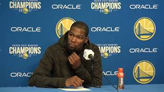 Kevin Durant Postgame Interview / Warriors vs Lakers / Dec 22