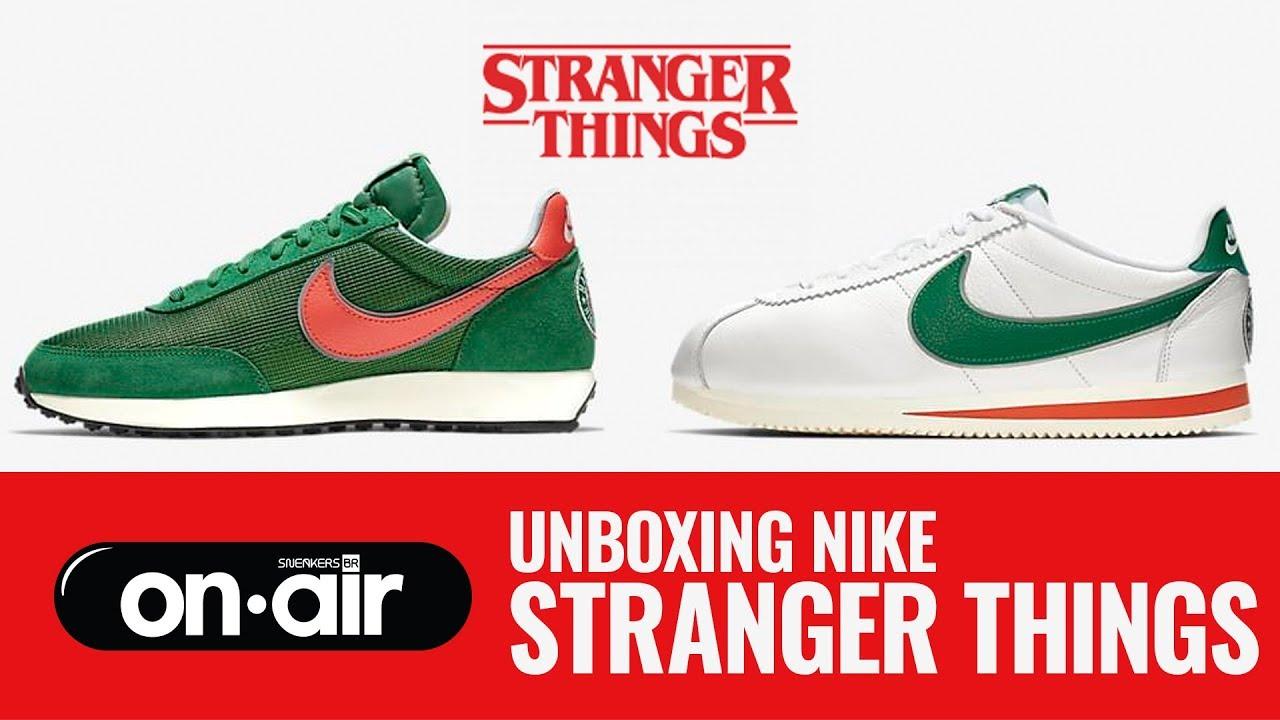 Calendario Stranger Things.Sbronair Vol 147 Unboxing Nike Stranger Things