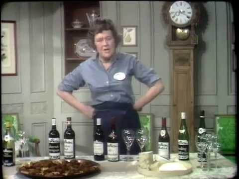 S07 E10 - Julia Child, The French Chef - Cheese and Wine Party!