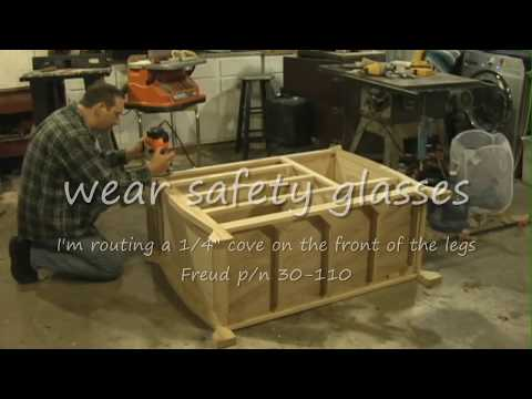 Baby changing table, the making of. . . - Watch in Hi-/def.